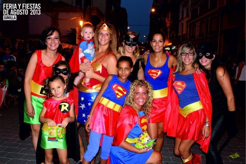 Cabalgata Infantil 2013 - Súper héroes