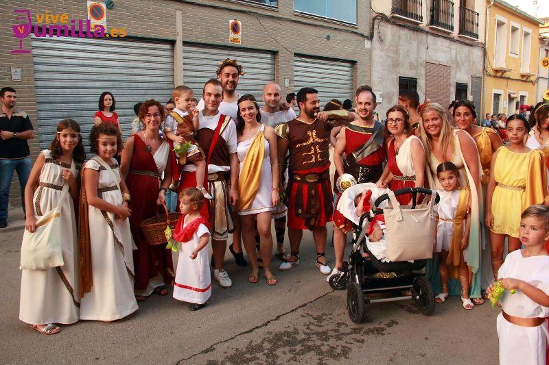 Cabalgata Infantil 2016 - Los pequeños gladiadores de Roma
