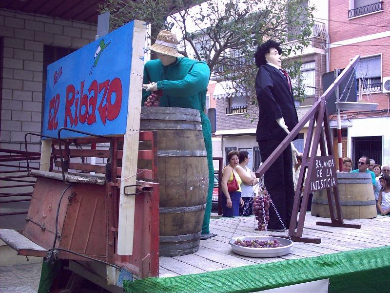 Carroza 2004 - Balanza de la injusticia