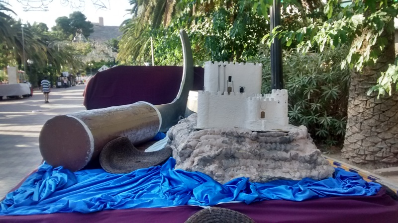 Carroza 2015 - Composición hocete - castillo